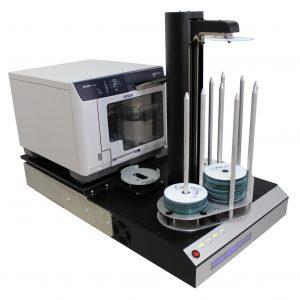 Impresoras CD/DVD: Manuales y con Robot.